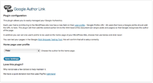 google author links for wordpress